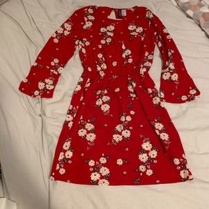 H&M dress with flowers